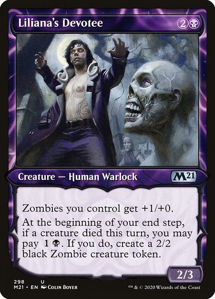 Liliana's Devotee [M21] [Showcase]