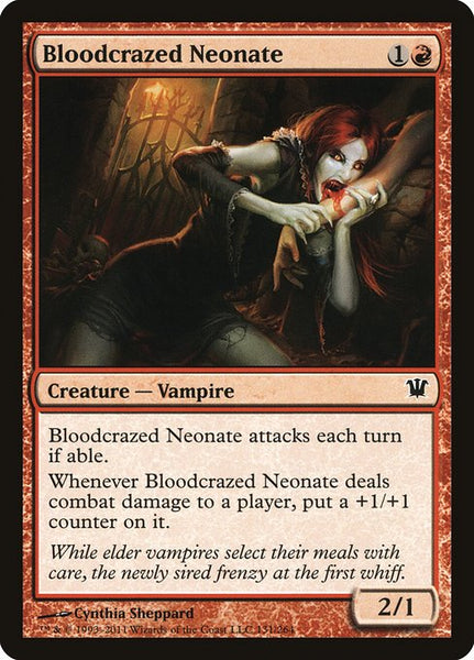 Bloodcrazed Neonate [ISD][Foil]