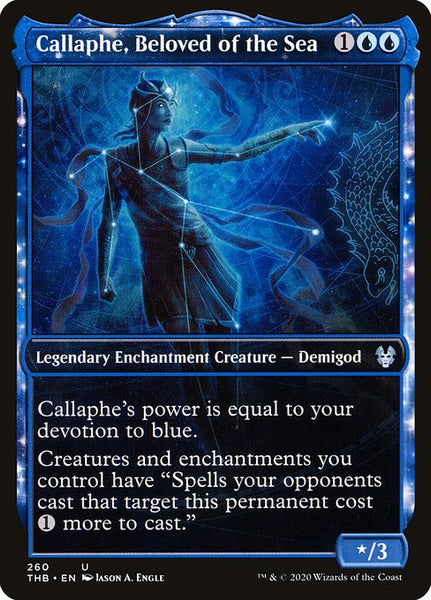 Callaphe, Beloved of the Sea [THB][Foil][Showcase]