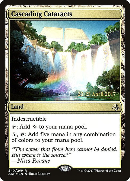 Cascading Cataracts [PAKH][Foil]