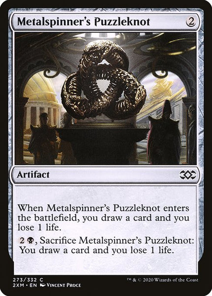 Metalspinner's Puzzleknot [2XM][Foil]