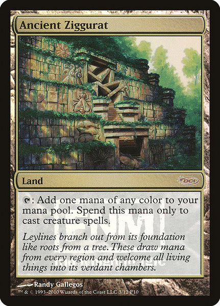 Ancient Ziggurat [F10][Foil]