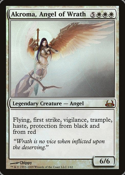 Akroma, Angel of Wrath [DDC][Foil]