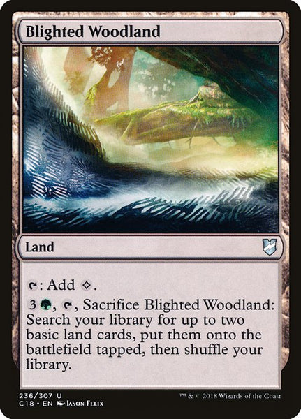 Blighted Woodland [C18]