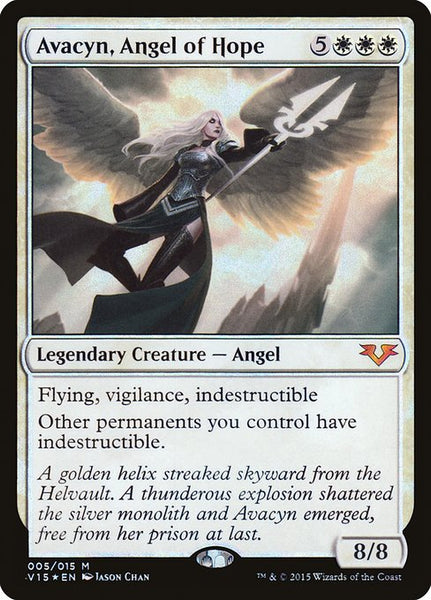 Avacyn, Angel of Hope [V15][Foil]
