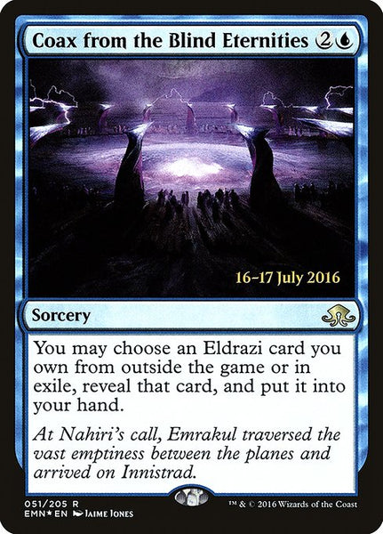 Coax from the Blind Eternities [PEMN][Foil]