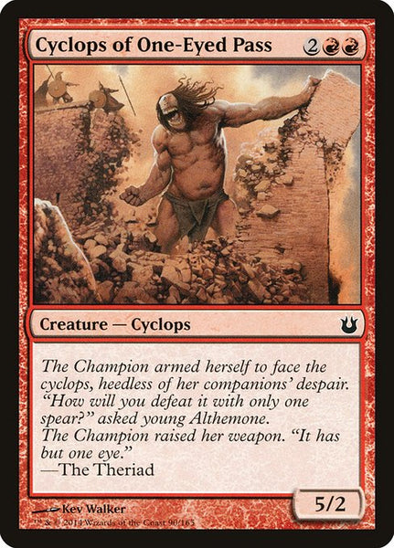 Cyclops of One-Eyed Pass [BNG][Foil]