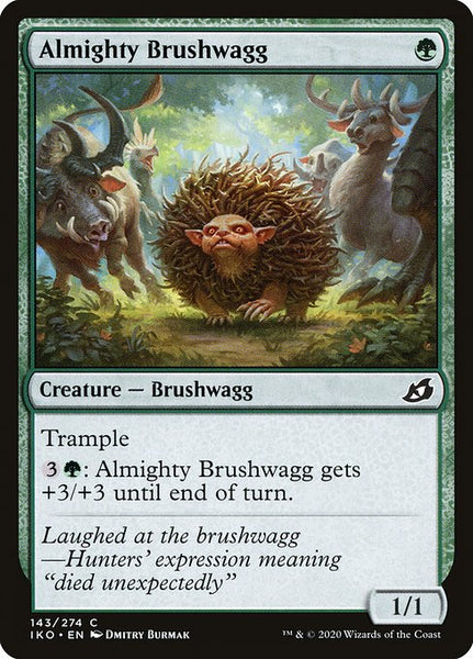 Almighty Brushwagg [IKO][Foil]