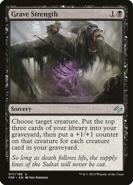 Grave Strength [FRF]