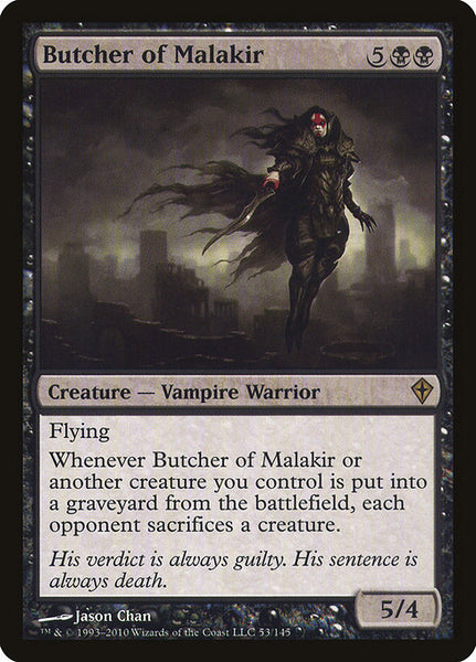 Butcher of Malakir [WWK][Foil]