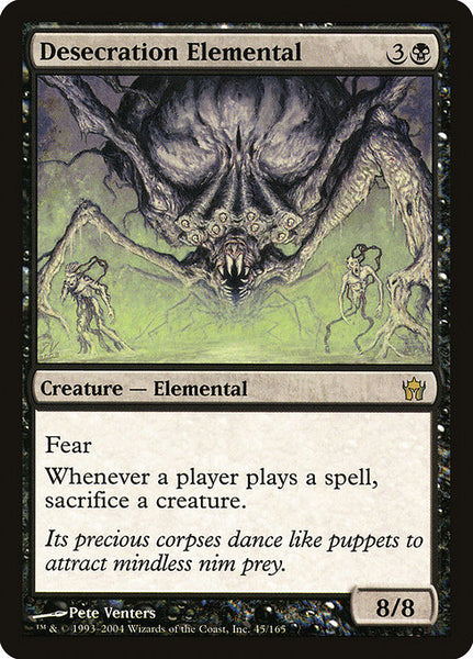 Desecration Elemental [5DN]