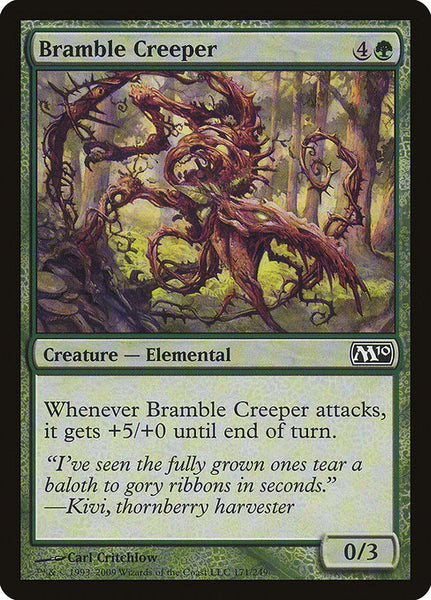 Bramble Creeper [M10][Foil]