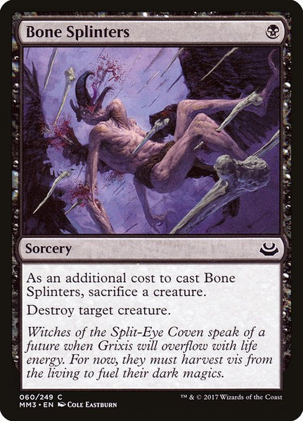 Bone Splinters [MM3][Foil]