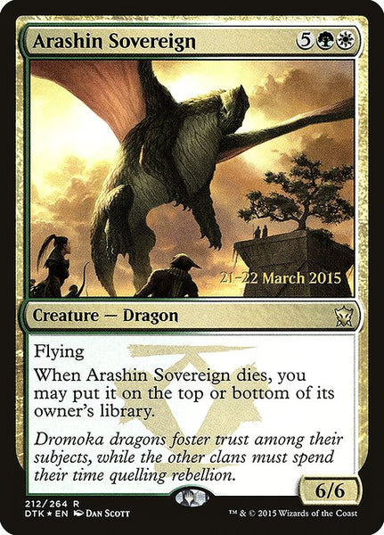 Arashin Sovereign [PDTK][Foil]