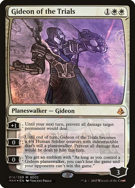 Gideon of the Trials [PS17][Foil]