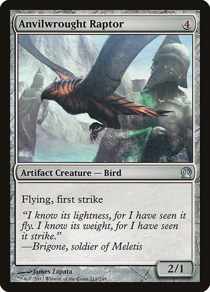 Anvilwrought Raptor [THS][Foil]