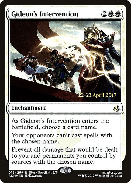Gideon's Intervention [PAKH][Foil]