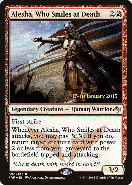 Alesha, Who Smiles at Death [PFRF][Foil]