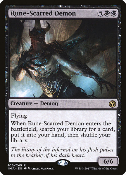 Rune-Scarred Demon [IMA]