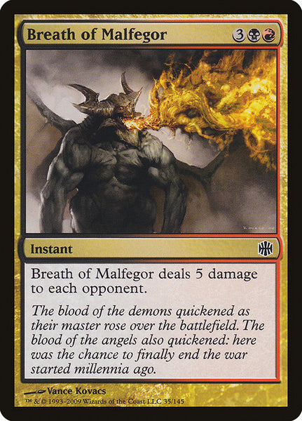 Breath of Malfegor [ARB][Foil]