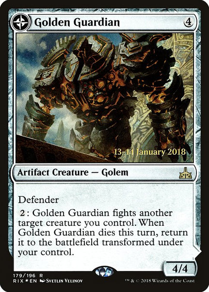 Golden Guardian // Gold-Forge Garrison [PRIX][Foil]