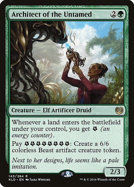 Architect of the Untamed [KLD][Foil]