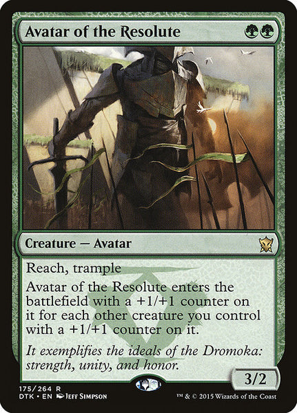 Avatar of the Resolute [DTK][Foil]