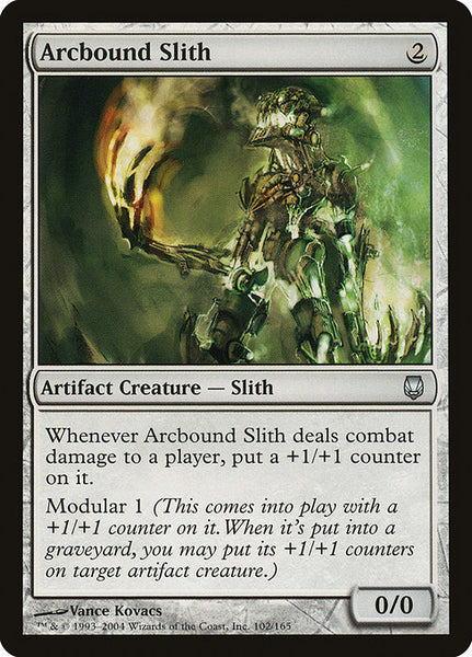 Arcbound Slith [DST][Foil]