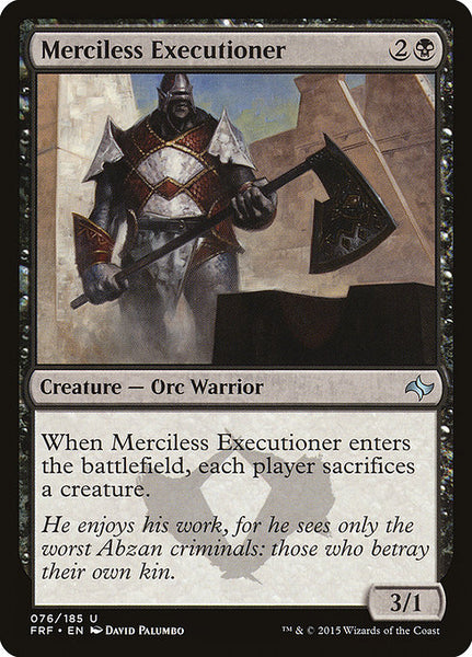 Merciless Executioner [FRF]