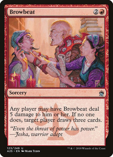 Browbeat [A25][Foil]