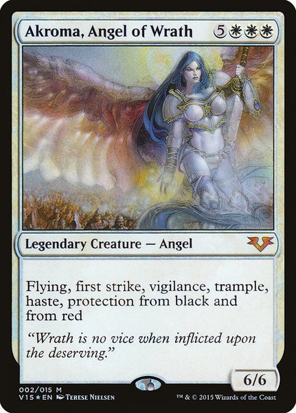 Akroma, Angel of Wrath [V15][Foil]