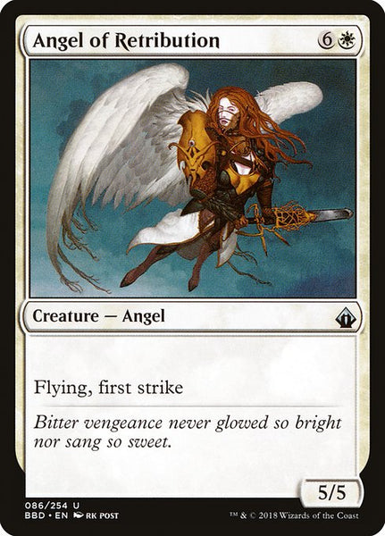 Angel of Retribution [BBD][Foil]