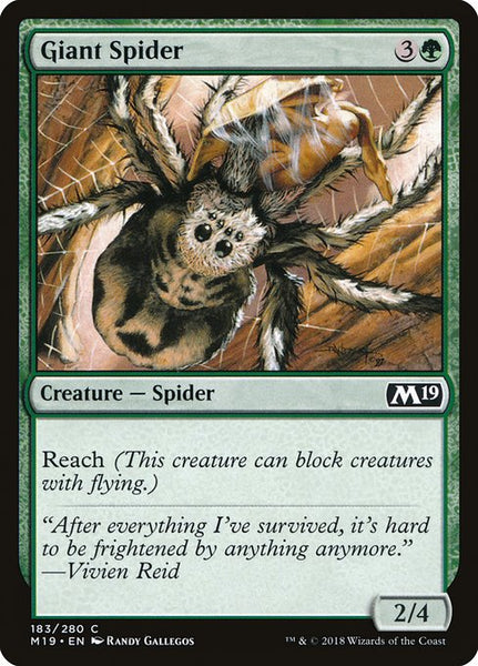 Giant Spider [M19]