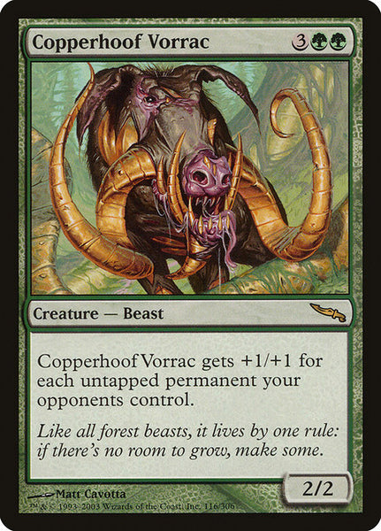 Copperhoof Vorrac [MRD][Foil]