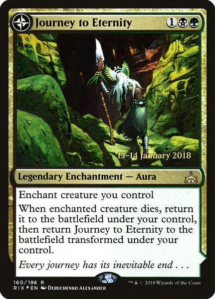 Journey to Eternity // Atzal, Cave of Eternity [PRIX][Foil]