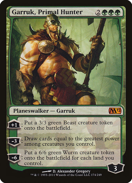 Garruk, Primal Hunter [M12]