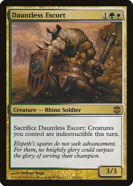 Dauntless Escort [ARB][Foil]