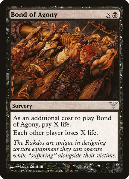 Bond of Agony [DIS][Foil]