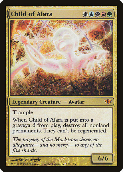 Child of Alara [CON][Foil]