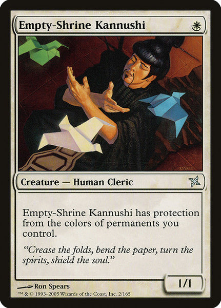Empty-Shrine Kannushi [BOK][Foil]