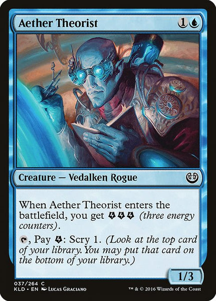 Aether Theorist [KLD][Foil]