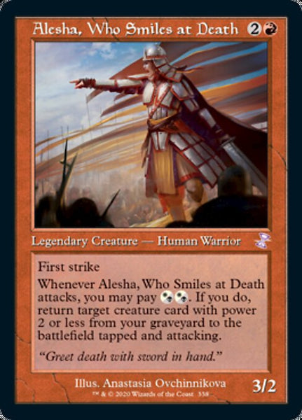 Alesha, Who Smiles at Death [TSR][Foil]