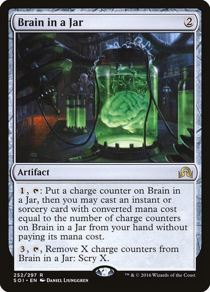 Brain in a Jar [SOI][Foil]