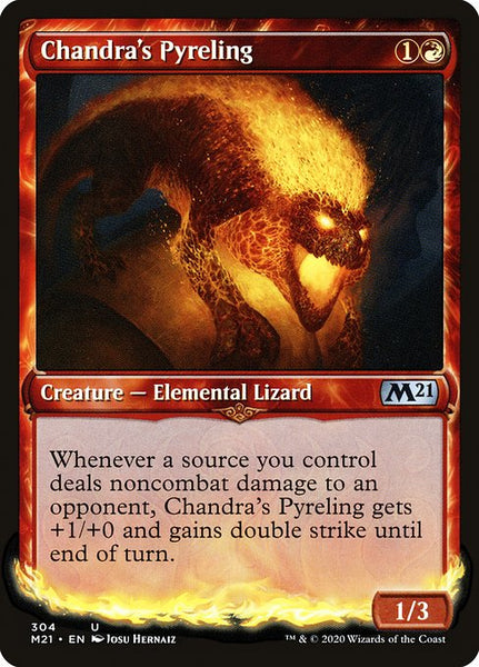 Chandra's Pyreling [M21][Foil][Showcase]