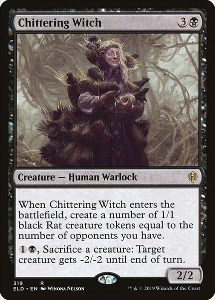 Chittering Witch [ELD]