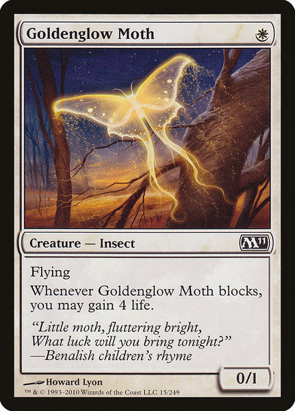 Goldenglow Moth [M11]
