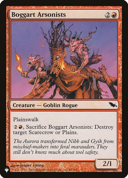 Boggart Arsonists [PLIST]