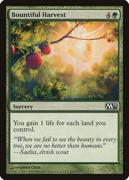 Bountiful Harvest [M13][Foil]