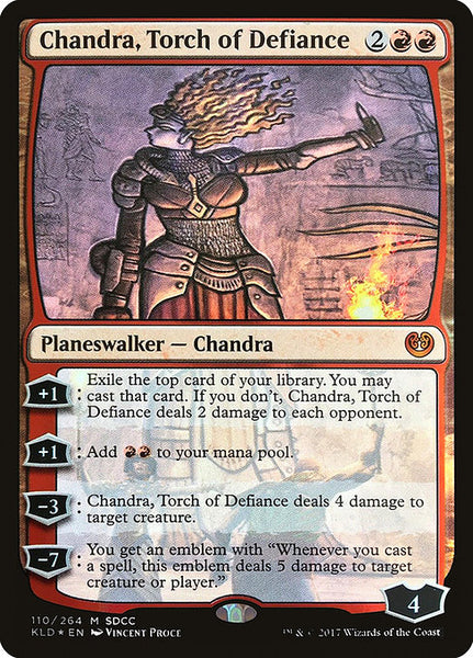 Chandra, Torch of Defiance [PS17][Foil]