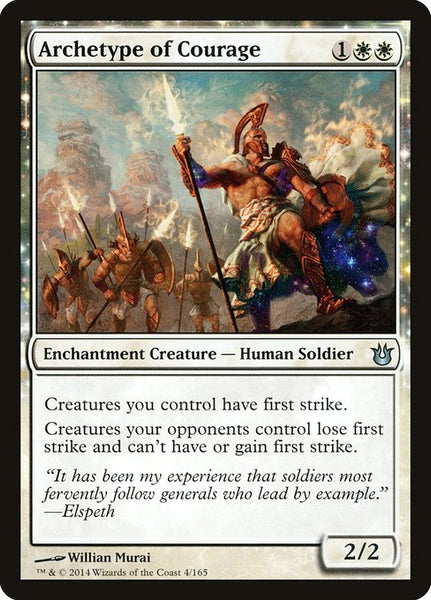 Archetype of Courage [BNG][Foil]